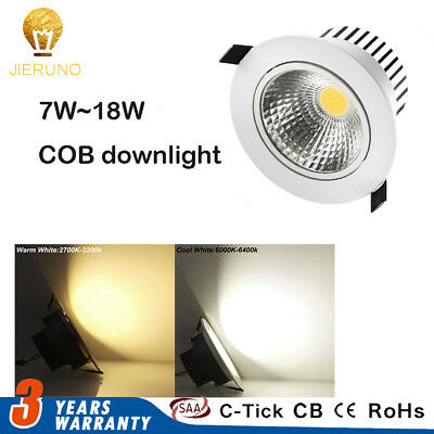 Cree Dimmable LED Ceiling Light Downlight Wall Lamp Bulb 5W/15W/25W 110V 220V