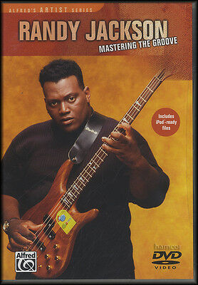 Randy Jackson Mastering The Groove Bass Guitar Learn How To Play Tuition DVD