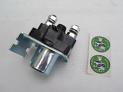 Land Rover Series 2, 2A & 3 Petrol Starter Solenoid - New Solenoid - 13H5952L