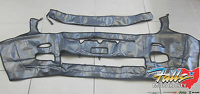 2015-2017 Jeep Renegade Front End Cover Protector Bra Kit Jeep Logo Mopar OEM