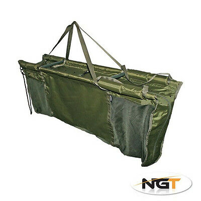 NEW NGT Deluxe Carp Captur Floating Floatation Retainer & Weigh Sling+Carry Case