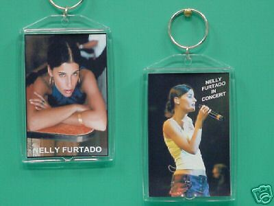 NELLY FURTADO - with 2 Photos - Designer Collectible GIFT Keychain 01