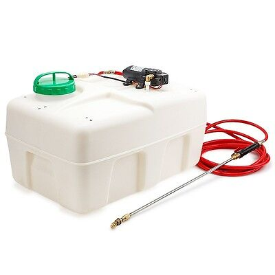 Protege ATV Garden Weed Sprayer 12V 50L Pump Driven Spot Spray Chemical Tank