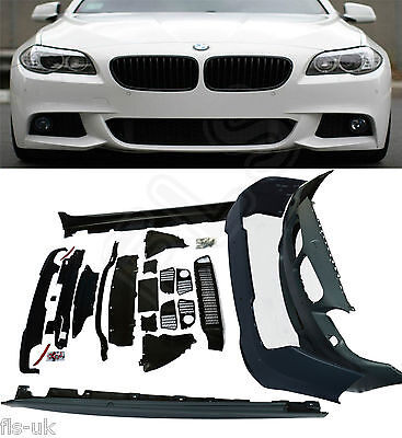 Bmw 5 Series F10 M Sport Full Bodykit 2010Up Front & Rear Bumper Side Skirts