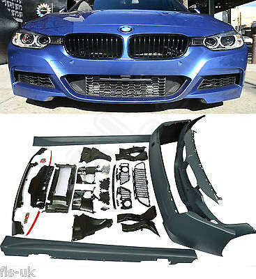 Bmw F30 3 Series M Style Full Bodykit 13Up Front & Rear Bumper Side Skirts