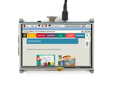 Waveshare 5 inch Raspberry Pi Display 800x480 Resistive Touchscreen LCD HDMI