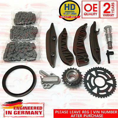 FOR BMW X5 xDrive 40d E70 UPPER LOWER DIESEL TIMING CHAIN GEARS TENSIONERS KIT