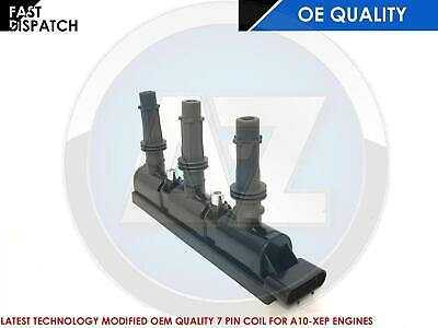 For Vauxhall Corsa D 1.0 12V A10XEP Ignition coil pack 7 pin new OEM quailty