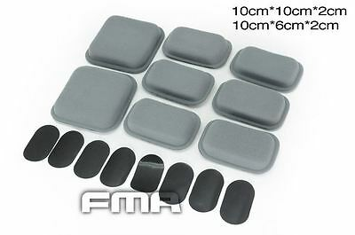 Airsoft Af Airframe Air Frame Replacement Helmet Padding Pad Set Mich Pads