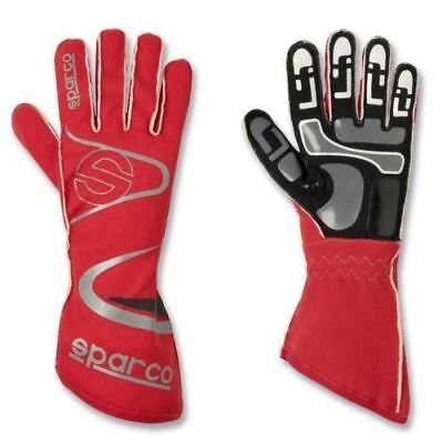 Sparco Arrow KG-7 K-7 Gloves, size 11 L FREE DELIVERY RED Rally, Race, Kart