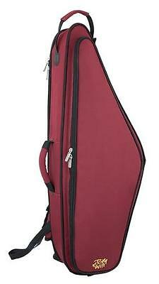 Tom and Will 36TS-359 Tenor Sax Saxophone Gig Bag Case, Red + Black **NEW**
