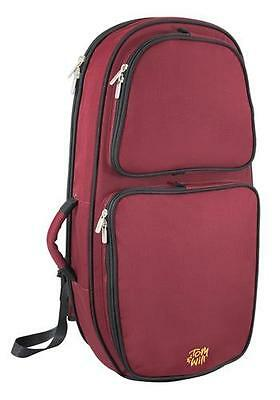 Tom and Will 26BH-359 Baritone Horn Gig Bag Case, Burgundy Red **NEW**