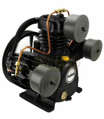 Puma 3 Cylinder 1 Single Stage Cast Iron Air Compressor Pump 22 SCFM