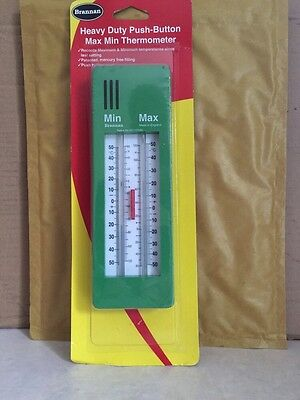 Brannan Thermometer Max-Min Push Button