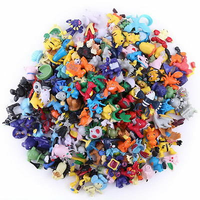 24pcs/Lot 2-3cm Cute Pokemon mini Pearl ct Figures BOC kids Toys Gifts Random