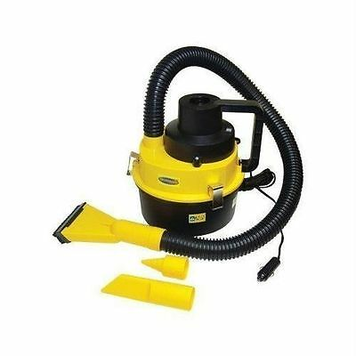 12V Wet Dry Auto Car Vacuum Cleaner Portable Handheld w/ Inflator Van Caravan UK