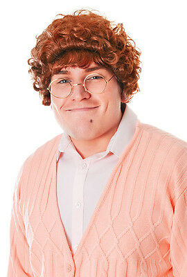 Mrs Browns Boys Brown Curly Wig Old Woman Nanna Fancy Dress