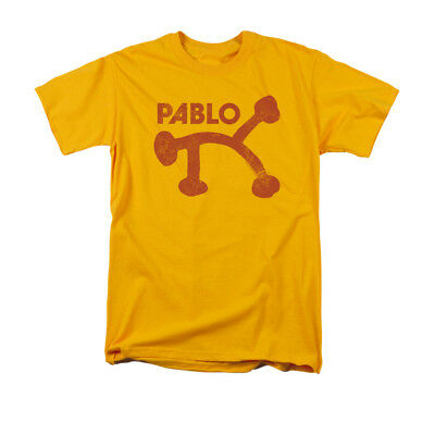 Concord Music Group Pablo Records Retro Logo Gold Adult T-Shirt
