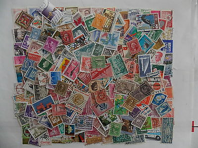 250 mixed lot Collection of US and World Wide Stamps off paper-Lot -US/WW250