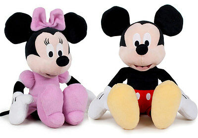 Peluches oficiales 50cm Mickey Minnie Mouse Disney calidad velboa supersuave