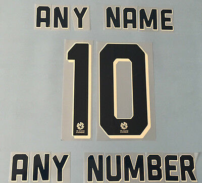 Sydney Fc Name And Number For Home Jersey 2015/2016