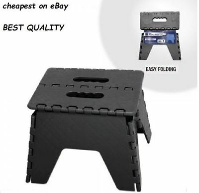 Plastic Multi Purpose Folding Step Stool Home, Kitchen, Easy Storage Foldable