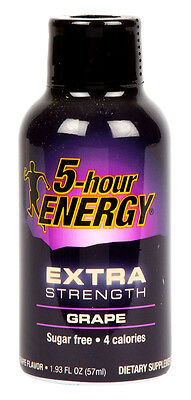 5-Hour Energy Extra Strength Grape