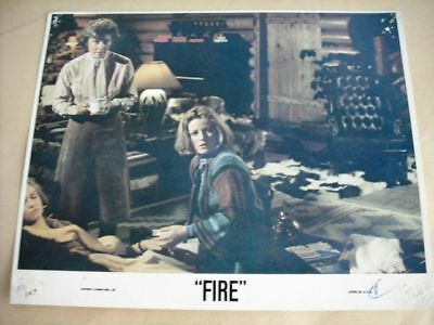 Fire: Ernest Borgnine Vintage US Movie Lobby Card 70s