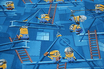 Quality Minions Kids Bedroom Carpet 3m Wide x Any Size! Despicable Me Carpet