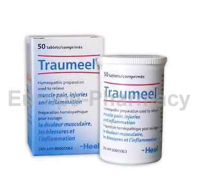 Traumeel S -N50 -Inflammation Muscle Joint Pain, Injuries- Homeopathic