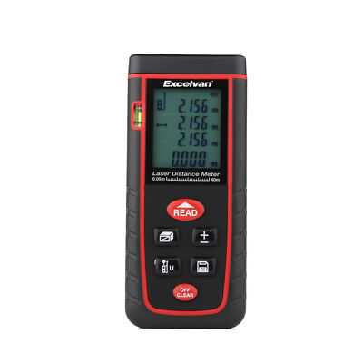 65.61ft/20m Digitale Laser Distance Meter Distanza Metro Range Finder Misurare