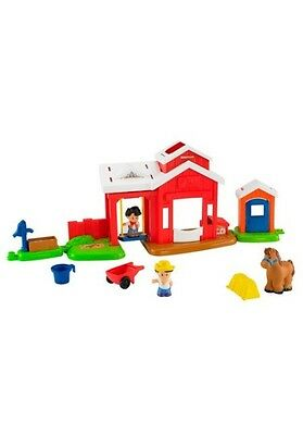 Mattel Fisher-Price Little People Pferdestall (BFT86)