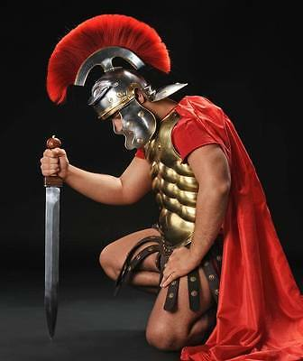 GAME Roman Spartan Gladiator helmet warrior plastic headgear cosplay