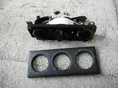Vw Corrado 92 Onwards Heater Control Panel/dials Complete Vr6 G60 8V Sna