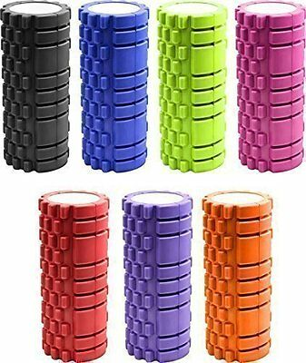 1 x Textured Exercise / Yoga Foam Roller for Gym Pilates Physio Trigger Point UK