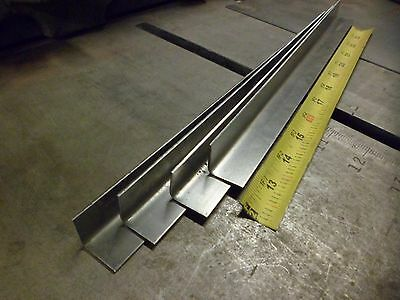 "12 pack,12"", 16 ga Sheet Steel, 90* Angle, Corner Bend, Window Sill Rust Repair"