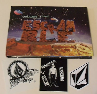VOLCOM STOME presents ESCRAMBLE DVD & STICKER Lot/ Set Snowboard