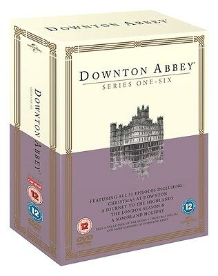Downton Abbey: Series 1- 6   [DVD]