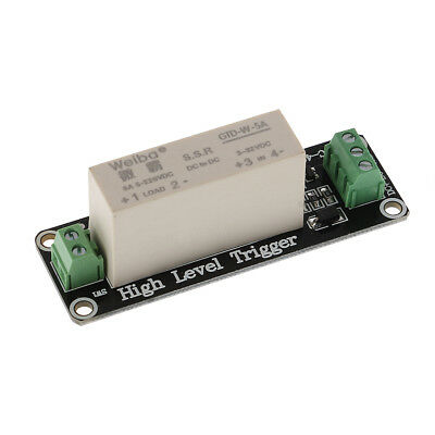 New 1 Channel SSR Solid State Relay High-low Trigger 5A 3-32V For Arduino Uno R3