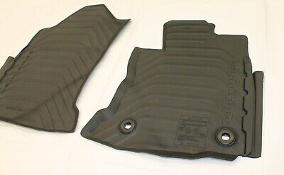 Toyota Fortuner Floor Mats Front Pair Auto Rubber From Aug 2015> New Genuine