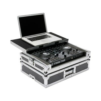 MAGMA WORKSTATION flight case valigia porta controller N.I. TRAKTOR S2 + laptop