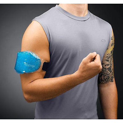 THERAPEARL Reusable Hot Cold Gel Sports Pack+ Strap, Sport First Aid Muscle Pain