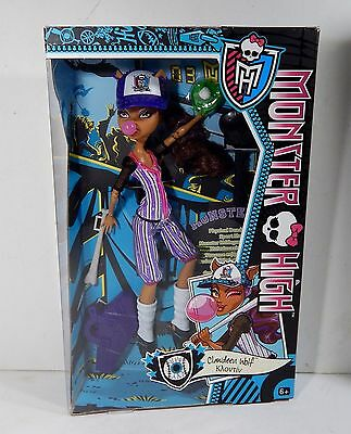 Monster High 2013 Clawdeeni Ghouls Sports Alive Greek Doll New In Box Nrfb