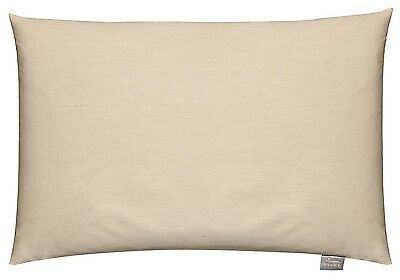 Bucky Natural Cotton Hypoallergenic Buckwheat Bed Pillow
