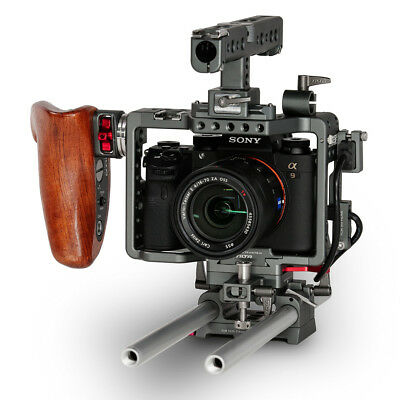 TILTA ES-T17A Sony Alpha A7S II A7R II Mk2 Lightweight rig Cage Baseplate HDMI