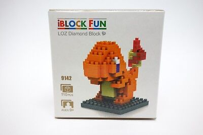 CHARMANDER Pokemon LOZ BLOCK Micro Mini Building Lego Nano Block Nanoblock
