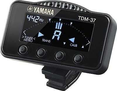 Yamaha TDM-37S Clip On Chromatic Tuner / Metronome for Brass Instruments