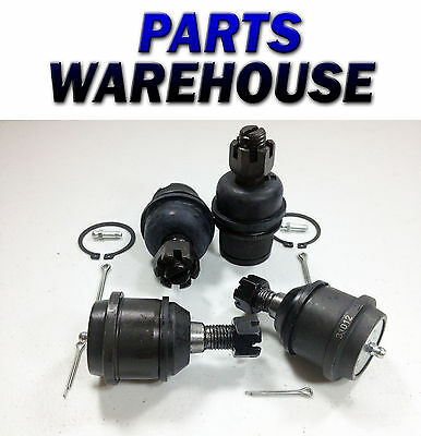 Dodge Ram Pick 2500 2500Hd 3500 4Wd Upper Lower Ball Joints 1 Year Warranty