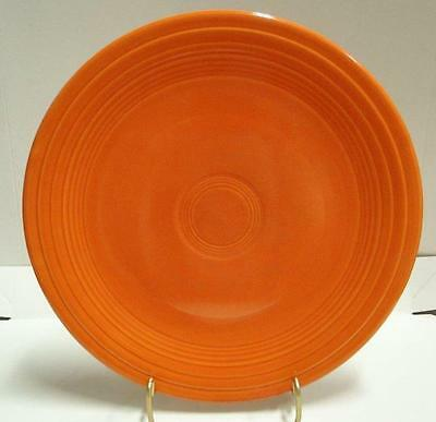 """Homer Laughlin Fiesta (Old): Red Luncheon Plate 9"""" AS IS"""