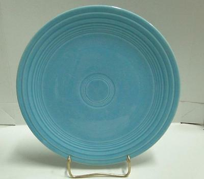 Homer Laughlin Fiesta (Old): Turquoise Luncheon Plate (s) 9""